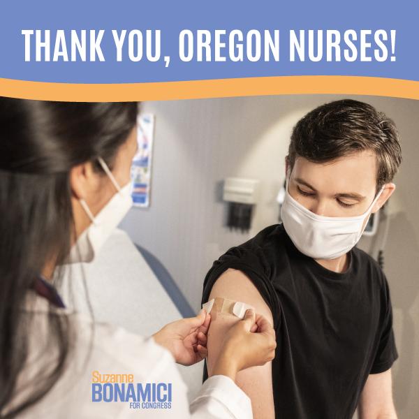 Thank you, Oregon Nurses